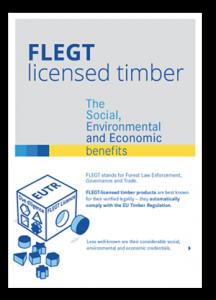FLEGT licensed timber